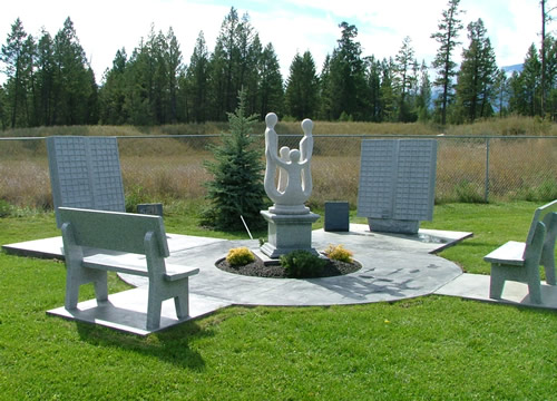 Memorial Benches And Statuary For Memorial Gardens